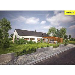 Projekt ec317a dom oszczędny - wariant i (z wentylacją mechaniczną), marki Murator