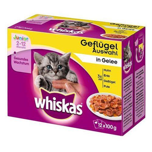 Whiskas Junior w saszetkach, 24 x 100 g - Wybór rybny (4008429074097)