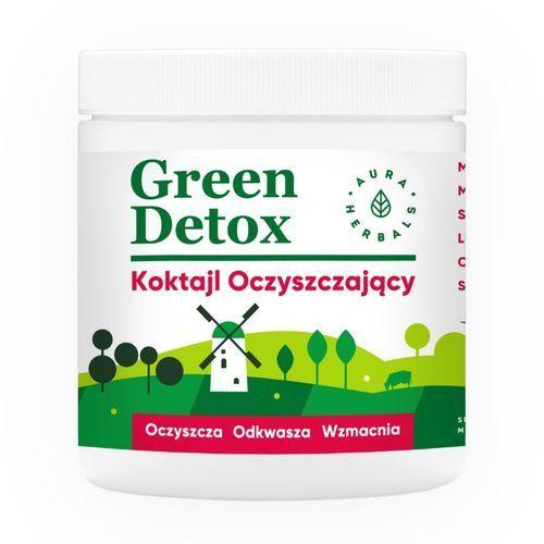 Proszek Green Detox - koktajl oczyszczający (180 g) Aura Herbals