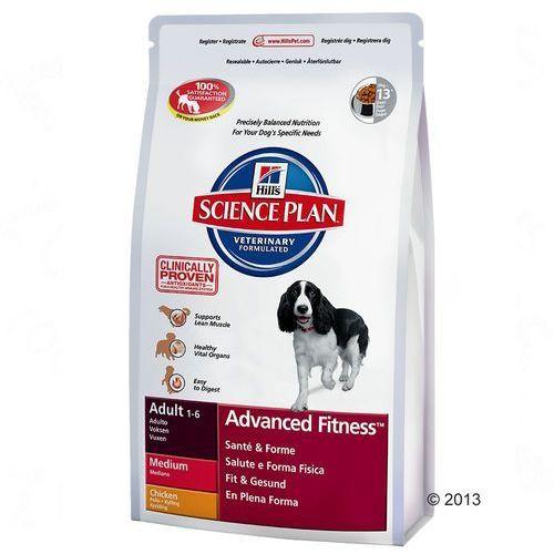 Hill's canine adult, kurczak - 2 x 12 kg marki Hills science plan