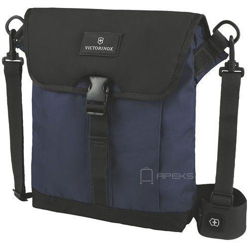 "Victorinox Flapover Digital Bag Altmont™ 3.0 torba na tablet 10"" - granatowo-czarny, kolor czarny"