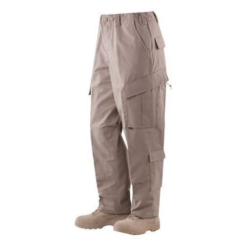 Spodnie Tru-Spec TRU (Tactical Response Uniform) - 65/35 Polyester / Cotton Rip-Stop - Khaki XL-Regular - 1287 - khaki, bawełna