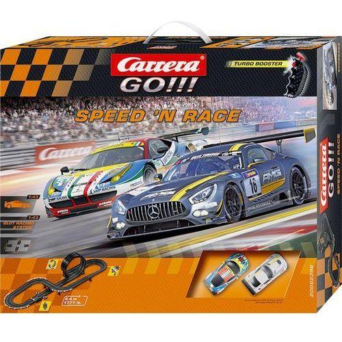 Zestaw torów wyścigowych Carrera GO!!! Speed'n Race 20062396, 62396 (6199382)