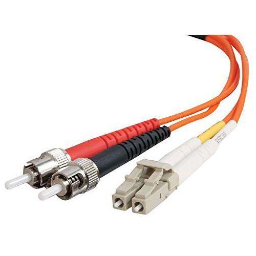 Cables To Go 85273 LC/ST Low Smoke Zero Halogen Duplex 62,5/125 Włókien szklanych Multi-mode przewód krosowy (3 m) Pomarańczowy (7571208527352)