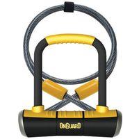 Onguard Pitbull Mini DT 8008 Zapięcie typu U-lock 90x140mm żółty U-locki
