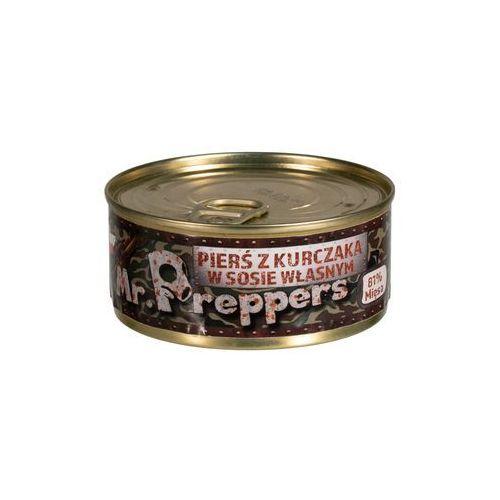 Mr. preppers Pierś z kurczaka w sosie własnym 160 g (5907637955329)