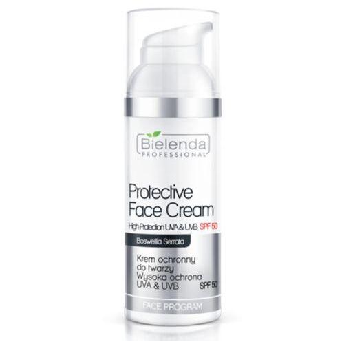 Bielenda professional protective face cream spf 50 krem ochronny do twarzy z filtrem spf50 - 50 ml