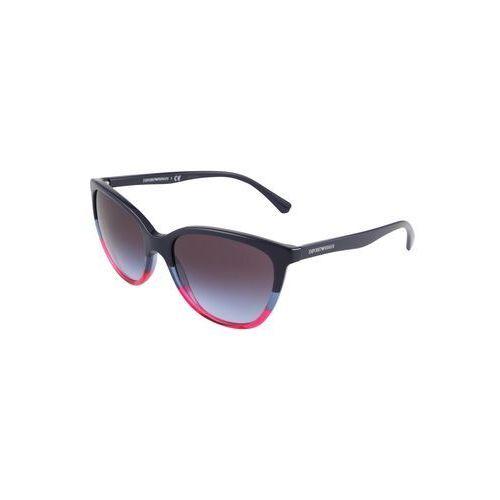 Emporio Armani Okulary przeciwsłoneczne niebieski / fioletowo-niebieski, kolor niebieski