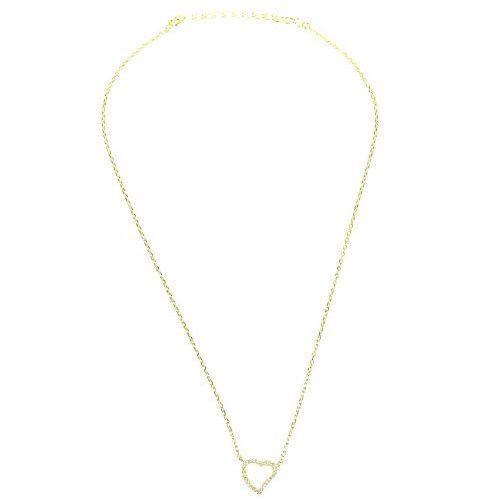 Biżuteria damska ze srebra SAXO Naszyjnik srebrny pozłacany SŁ.033.01, SŁ.033.01