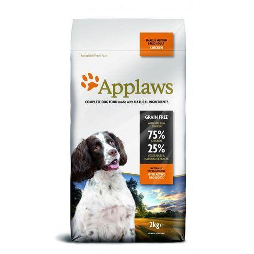 1 + 1 kg gratis!  karma dla psa, 2 kg - adult small & medium breed, kurczak marki Applaws