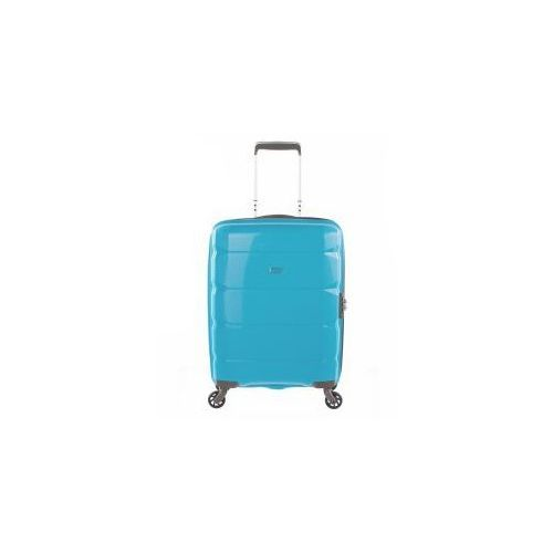 Puccini  walizka mała/ kabinowa z kolekcji pp008 shanghaj twarda 4 koła materiał polipropylen zamek szyfrowy tsa