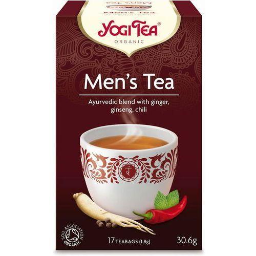 Yogi Tea: herbata Dla Mężczyzny Men's Tea BIO - 17 szt.