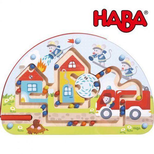 HABA Gra Labirynt Magnetyczny Straż Pożarna, towar z kategorii: Gry dla dzieci