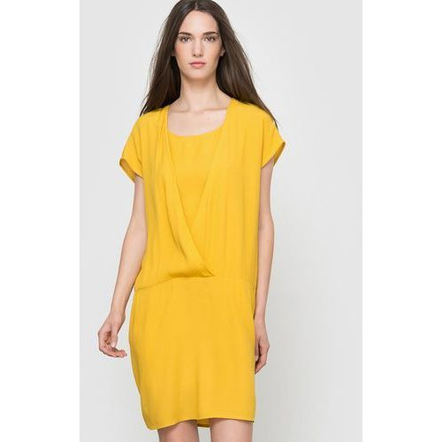 Zwiewna sukienka z krótkim rękawem, Vila