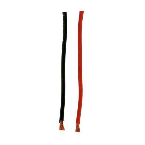 Przewód silikonowy 6,0 qmm czarny/czerw., 07271