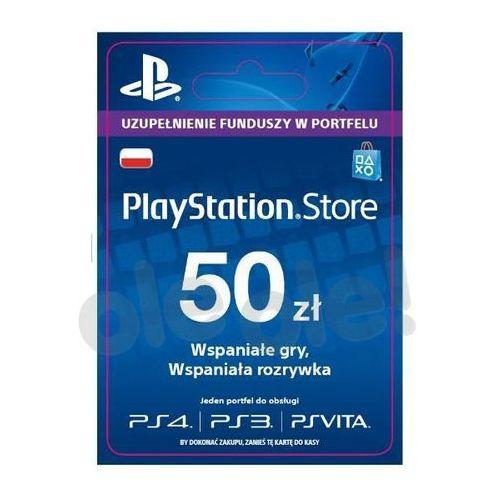 Sony PlayStation Network 50 zł [kod aktywacyjny] z kategorii Kody i karty pre-paid