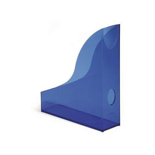 Durable Pojemnik na dokumenty basic 1701712 przezroczysty niebieski