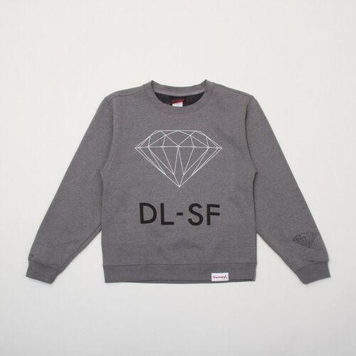 Diamond Bluza - dl-sf gunmetal (gmhe) rozmiar: xl