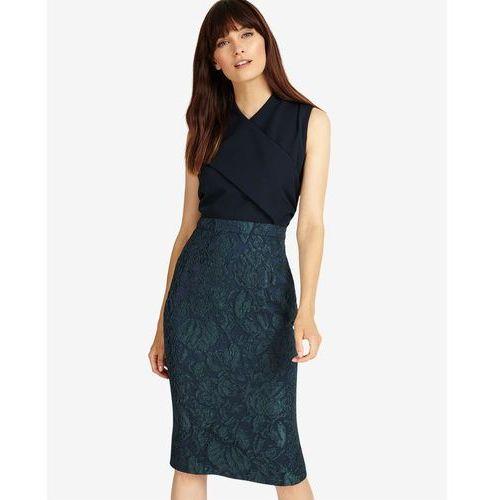 Phase Eight Jacqueline Jacquard Dress, kolor niebieski