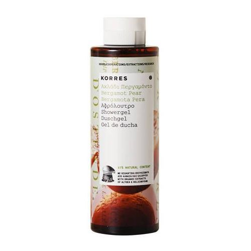 Bergamot Pear Showergel żel pod prysznic o zapachu bergamotki i gruszki 250ml - Korres (5203069048630)