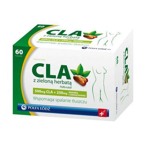 Polfa łódź Cla z zieloną herbatą x 60 kapsułek