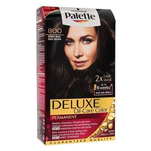 Palette deluxe farba do włosów ciemny brąz nr 800 1 op. - marki Schwarzkopf