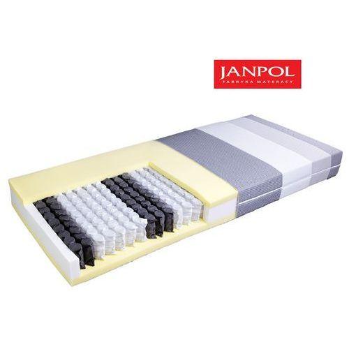 Janpol plantpur classic - materac kieszeniowy, sprężynowy, rozmiar - 160x190, pokrowiec - jersey standard wyprzedaż, wysyłka gratis marki Materace janpol