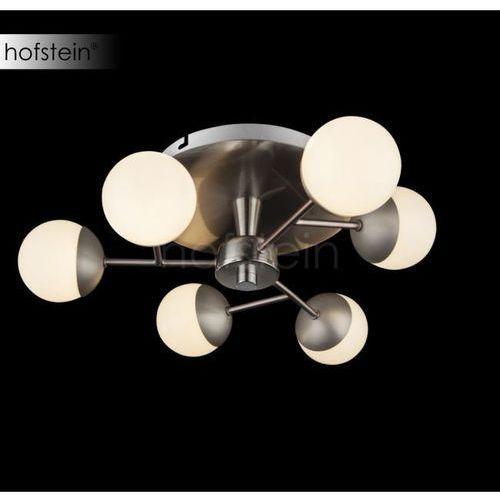 Globo Lampa sufitowa LED Nikiel matowy, 6-punktowe - - Obszar wewnętrzny - MARTA - Czas dostawy: od 6-10 dni roboczych, 56222-6