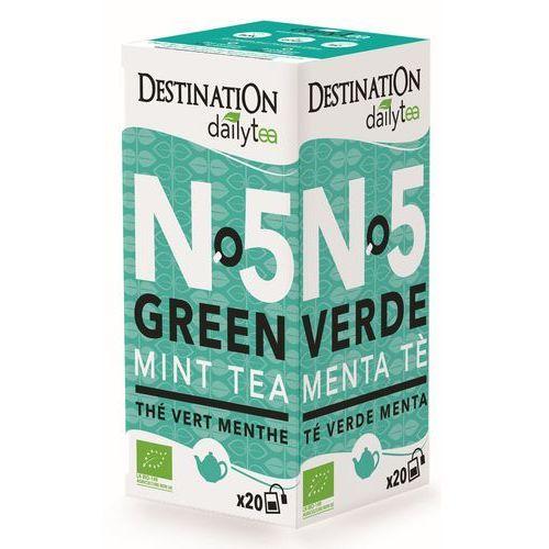 211destination Herbata zielona z miętą 20x2g - destination (3700110036346)