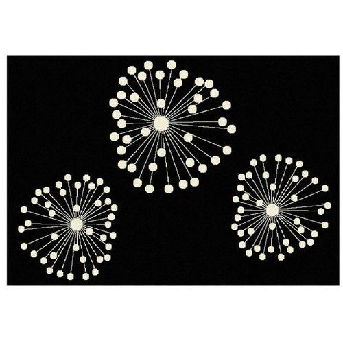 Polipropylenowy dywan fireworks - 120 * 170 cm marki Vente-unique