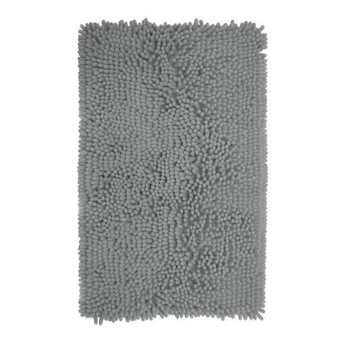 Cooke&lewis Dywanik łazienkowy abava 50 x 80 cm srebrny (3663602965114)