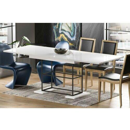 Stół gani rozkładany 130-210 biały połysk marki Endo