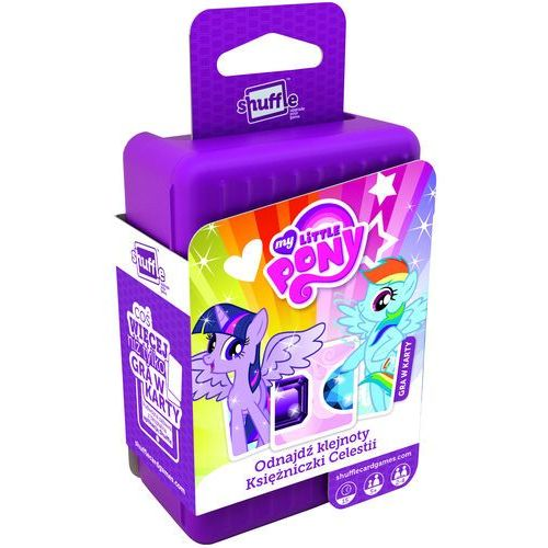 Cartamundi Gra shuffle my little pony -. darmowa dostawa do kiosku ruchu od 24,99zł