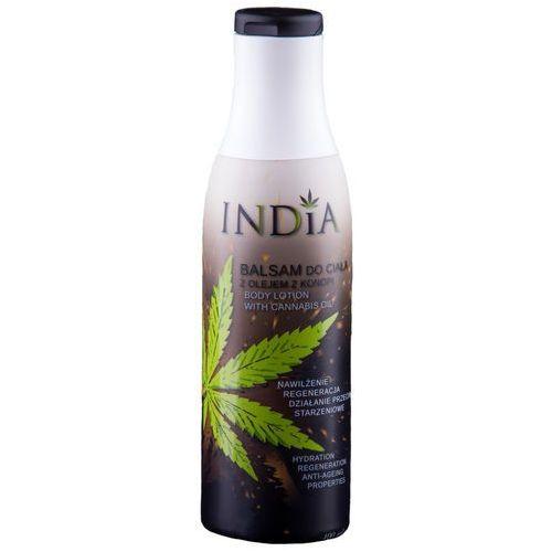 Balsam do ciała z olejem z konopi 400ml India Cosmetics, INDBA100