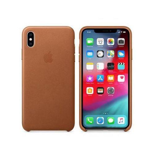 APPLE Leather Case do iPhone XS Max, Saddle Brown >> BOGATA OFERTA - SZYBKA WYSYŁKA - PROMOCJE - DARMOWY TRANSPORT OD 99 ZŁ!
