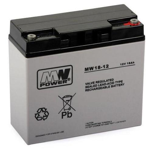 Mw power Akumulator agm żelowy mwp mws 18-12 (12v 18ah) (5902135117248)