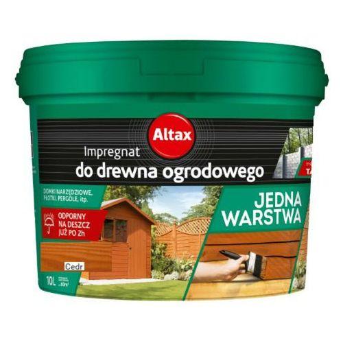 ALTAX- impregnat do drewna ogrodowego, cedr, 10 l