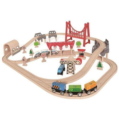 HAPE zestwa kolejowy z podwojną petlą (6943478015005)