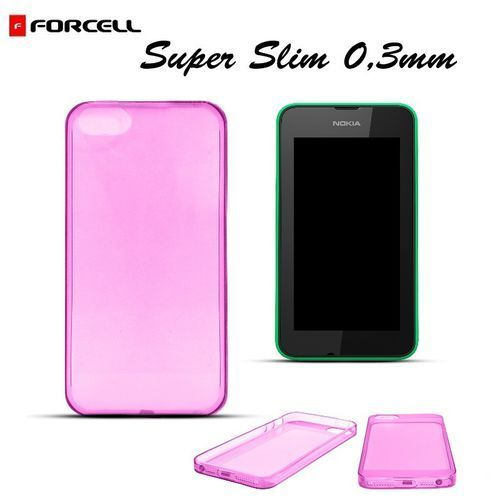 """Forcell """"ultra slim back case lumia 530"""" (transparent pink) (8809329156663)"""