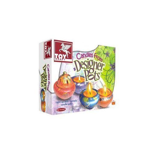 Toy kraft Zestaw kreatywny stwórz ozdobne świeczki (8906022394702)