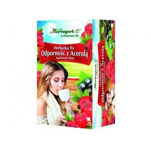 Herbapol kraków Herbata odporność z acerolą 20szt. - herbapol