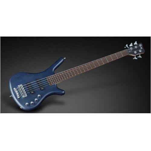 Rockbass corvette basic 5-str. ocean blue transparent satin, fretted gitara basowa