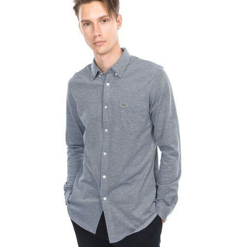 Lacoste koszula niebieski szary l/xl