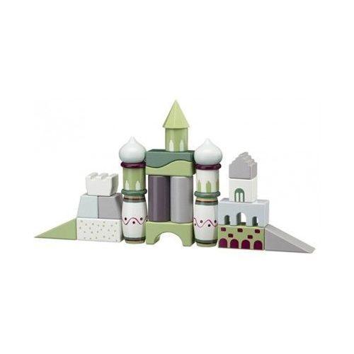 Kids Concept Klocki Drewniane Kolorowe, 412216