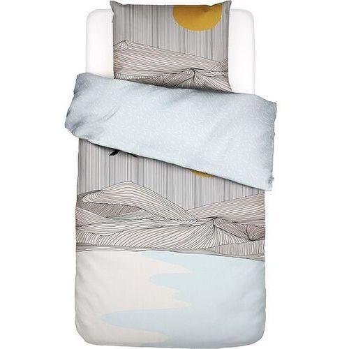 Pościel chase the sun 155 x 220 cm z poszewką na poduszkę 80 x 80 cm marki Covers & co