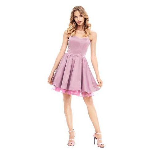 Sukienka lyla w kolorze fioletowym marki Sugarfree