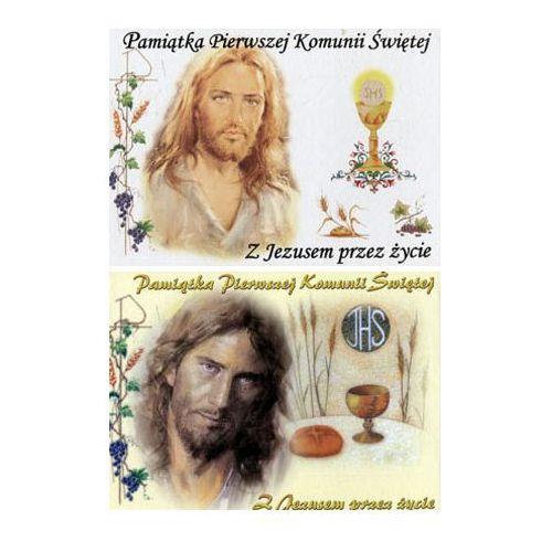 Pamiątka I Komunii Świętej Z Jezusem przez życie - OPOKA - produkt z kategorii- Na Pierwszą Komunię dla chłopca