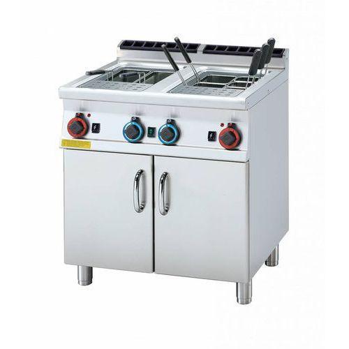 Rm gastro Urządzenie do gotowania makaronu gazowe | 2x25l | 19000w | 800x700x(h)900mm