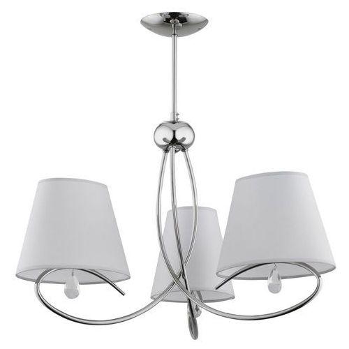 Alfa Lampa wisząca siena 20433.00 zwis 3x40w e14 chrom/szara >>> rabatujemy do 20% każde zamówienie!!!