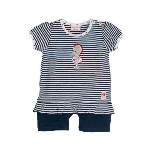 SALT AND PEPPER Baby Glück Girls Rampersy Konik wodny navy blue (4054432741259)